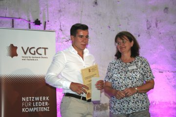 VGCT Förderpreis für Yannick Strebost - HELLER-LEDER